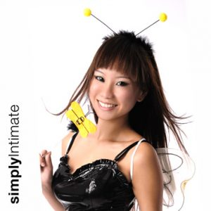 Honey Bee headband with wings & wand set
