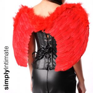 Feather Wings – Red