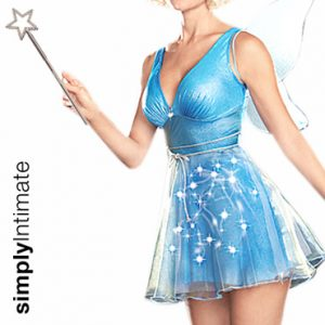 Lil' Pixie Fairy light-up dress with wings set