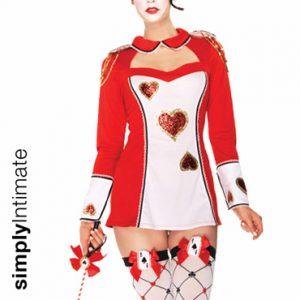 Card Mistress mini shift dress with keyhole collar set