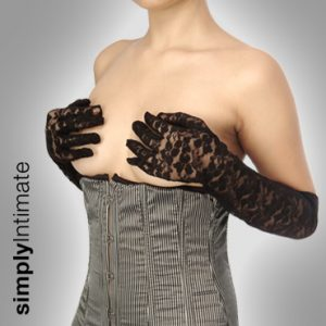 Stretch lace gloves – Long