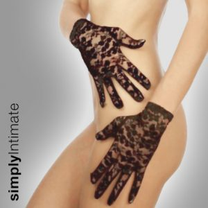 Stretch lace gloves – Short