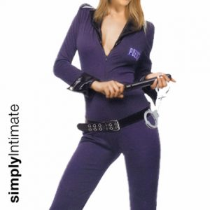Hottie Sergeant long sleeve jumpsuit set