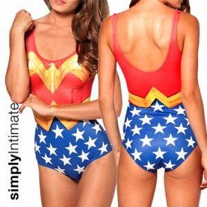 Wonder Woman monokini