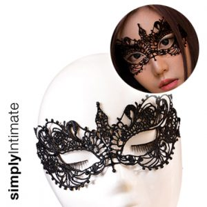 Venice lace applique mask (A)