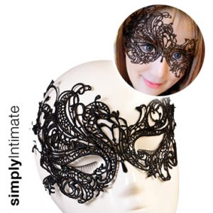 Venice lace applique mask (B)